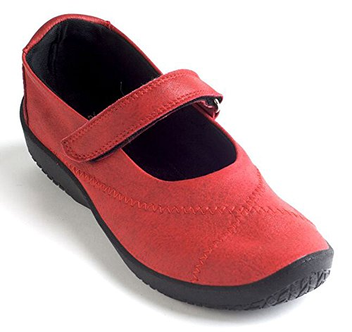 Arcopedico Womens L18 Synthetic Shoes Cherry