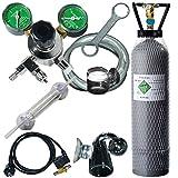 Komplett-CO2-Anlage + Nachtabschaltung + 2-Kg-Flasche