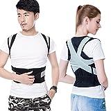 RXL-Fajas dorsales Corrección jorobada Ropa correctiva/Chaleco correctivo Espalda ortopédica Cinturón Corrector Postural Sentado (Color : B, Tamaño : S)