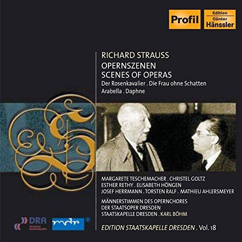 Édition Staatskapelle Dresden Vol.18 : Karl Böhm / Strauss