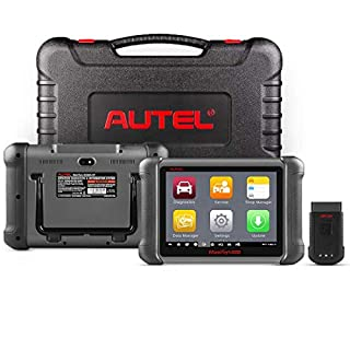Autel Maxisys MS906BT Bluetooth Connection by VCI, Automotive Diagnostic Tool(Upgraded Version of DS708/MS906) with OE-level Diagnostics and ECU Coding Capability (English Only)