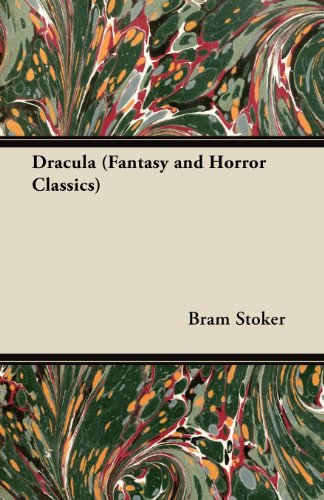Dracula (Fantasy and Horror Classics) Cover Image