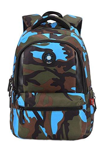 EOZY-Cartable--Dos-Enfant-Camouflage-Primaire-Sac--Dos-Scolaire-Garon-Collge-311444CM-Bleu