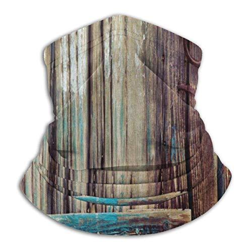 zcfhike - passamontagna da sci, in stile rustico invecchiato, unisex, per capannoni, capannoni, capanni invernali