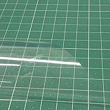 Plástico PVC alta transparencia de 140 cm de ancho para manualidades y confecciones. 100% PVC - Grosor: 200 micras (0.2 milímetro) - Se vende por metros: 1 UNIDAD = 1 METRO