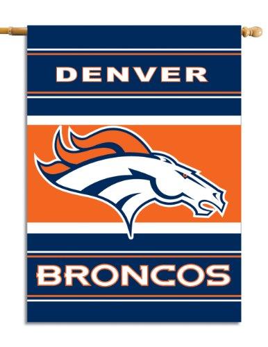 Fremont Die NFL Doppelseitiges Hausbanner, 71 x 102 cm, Denver Broncos, 28