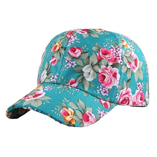Hut-männer-baseball-cap (GreatestPAK Cap Frauen Baseball Cap Snapback Hut Hip-Hop einstellbar (Grün, Einheitsgröße))