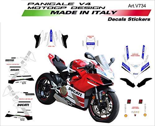 Pegatinas moto Vulturbike Ducati Panigale V4 MotoGP Design