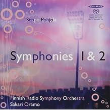 Symphonies 1&2 [Import anglais]