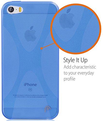 Fosmon DURA X TPU Case for iPhone 5/5s/SE - (Blue)