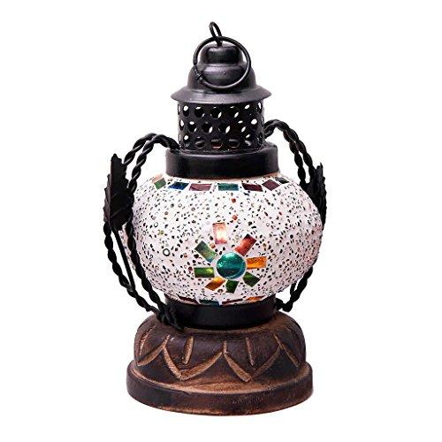 Rajasthani Home Handicrafts Jaipuri Handmade Plastic & Glass Real Lantern