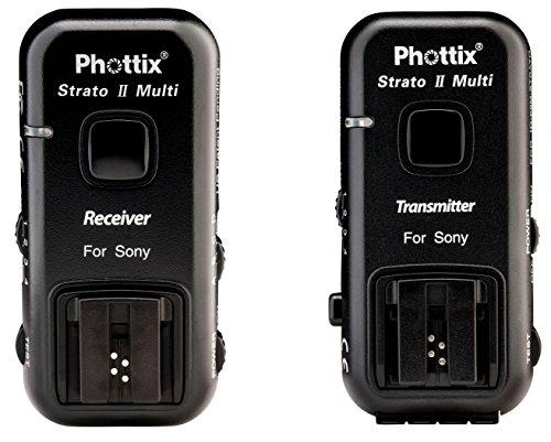 Phottix PH15655 Strato II Multi 5-in-1 Auslöser-Set für Sony Pocket Wizard Pc