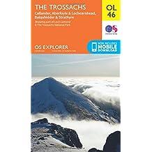 The Trossachs, Callander, Aberfoyle & Lochearnhead, Balquhidder & Strathyre (OS Explorer Map)
