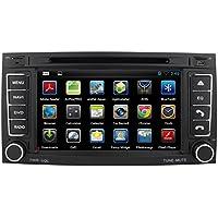 kunfine 7 pulgadas coche reproductor de DVD GPS navegación Multimedia estéreo de coche para VW Touareg