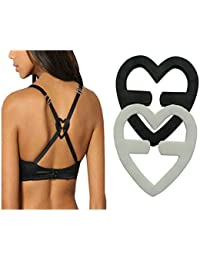 KOOYOL 2Pcs Bra Strap Clips-Conceal Straps-Cleavage Control