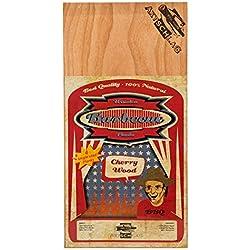 Axtschlag Räucherbretter zur einmaligen Anwendung, Kirsche, 4 Grillbretter, Holz, 300 x 150 x 2 mm