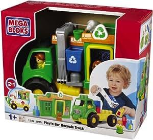 Mega Bloks  - 08285U - Jeux de construction - Play'n Go Recycle