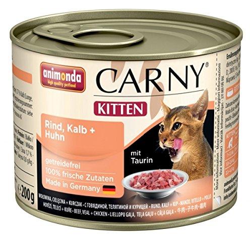 Animonda Animonda Cat Dose Carny Kitten Rind & Kalb & Huhn 200g