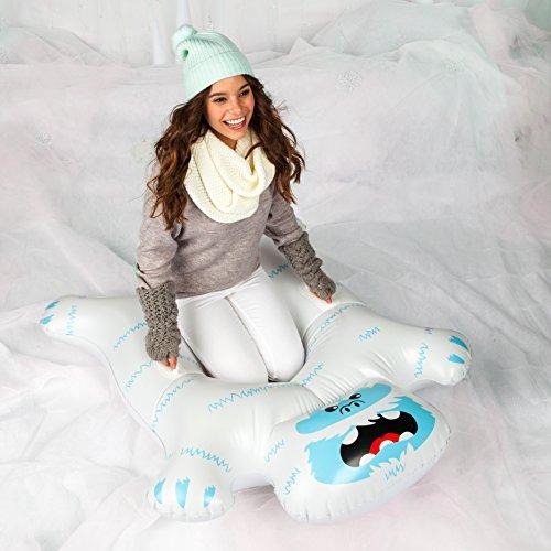 BigMouth Toys BMST-0006 Big Mouth Snow Tube Yeti, Mehrfarbig (Schlitten Und Snow-tubes)