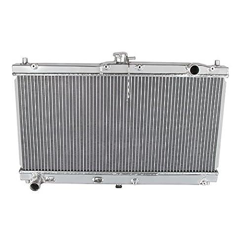 ALLOYWORKS 2 Row Aluminum Engine Cooling Radiator