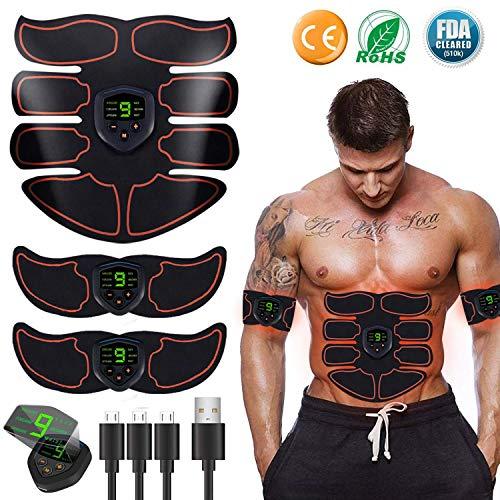 Electroestimulador Muscular Abdominales Cinturón