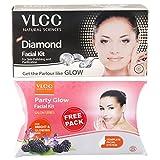 #6: VLCC Diamond Facial Kit, 60g with Free Party Glow Facial Kit, 60g