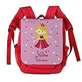 Striefchen® Kindergartenrucksack Prinzessin mit eigenem Namen und Wunschtext