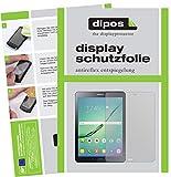dipos I 2X Schutzfolie matt passend für Samsung Galaxy Tab S2 9,7 Zoll T819N Folie Displayschutzfolie