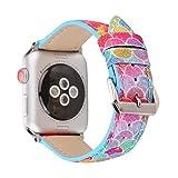 Best Hermes Amici Band - Cinturino per Apple Watch 38mm 42mm, Cinturini Bracciale Review