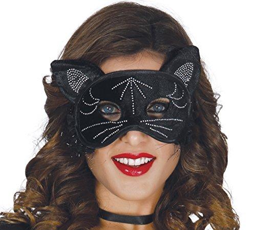 Guirca Fiestas GUI12717 - Schwarze Maske