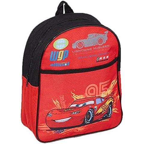 Zainetto Asilo , zaino Scuola piccolo Rosso Cars Disney *11206