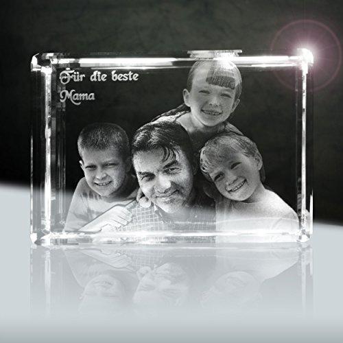 Foto Laser in Kristall (3d) 110mm (XL)