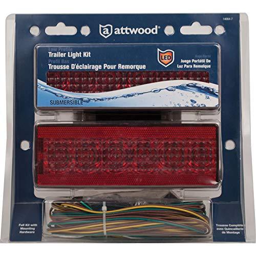 Attwood LED Low-Profile Trailer Light Kit (Licht-kit 80 Trailer Led über)