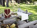 The Greenfield Collection WP003H Luxus Weinkühler für Zwei Personen in Mullberry Red - 5