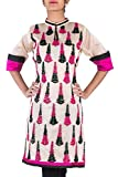 Hakoba Women's Embroidered Kurti (HK0086...