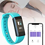 inDigi Ftbracelet-X6S-Gn-So07 X6S Fitness Tracking Smartwatch Band with Heart Rate Monitor, Blood Pressure