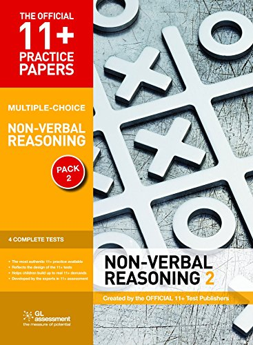 11+ Practice Papers, Non-Verbal Reasoning Pack 2 (Multiple Choice): NVR Test 5, NVR Test 6, NVR Test 7, NVR Test 8 (The Official 11+ Practice Papers) by Educational Experts (1-Feb-2011) Paperback