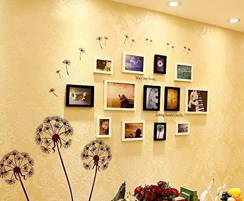 Preisvergleich Produktbild Massivholz photo wall-box im Wohnzimmer, Schlafzimmer kreative Kombination Foto wall Picture frame Wandhalterung an der Wand weiß original Hu