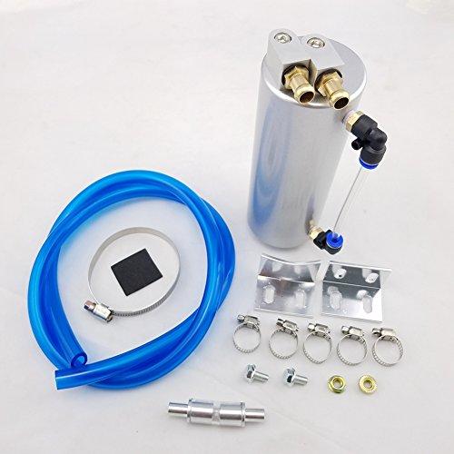 Universal aluminum Racing oil Catch Tank/can Round can serbatoio Turbo oil Catch