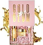 24 K oro máscara de piel caja de regalo Set ácido hialurónico vitamina A, C y E...