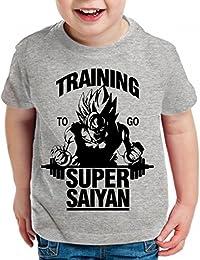 WhyKiki Goku Super Saiyan Son Camiseta Para Niños T-Shirt Goku Dragon Master Ball Vegeta Turtle Roshi Db