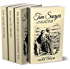 Tom Sawyer Collection - All Four Books (Illustrated + Audio links. Includes 'Adventures of Tom Sawyer,' 'Huckleberry Finn' ' + 2 more sequels)
