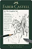 Faber-Castell 112972 - Pitt Graphite Set im Metalletui, klein, 11-teilig