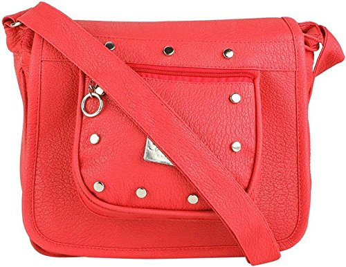 Typify Women's Sling Cross Body bag (Red)  available at amazon for Rs.299