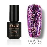 OverDose,Vernis à ongles Nail designer Top Coats à effets Natural Nail Polish Gel pour Ongles Bling Bling Effet Nail Art 7ml (25)