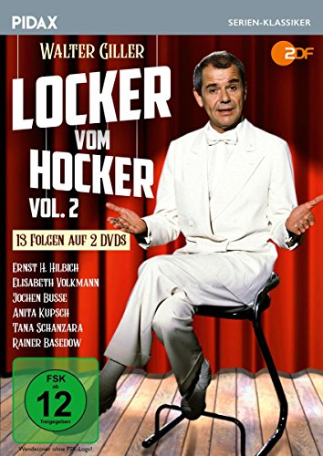 Locker vom Hocker, Vol. 2 / Weitere 13 Folgen der Sketch-Comedy-Reihe (Pidax Serien-Klassiker) [2 DVDs]