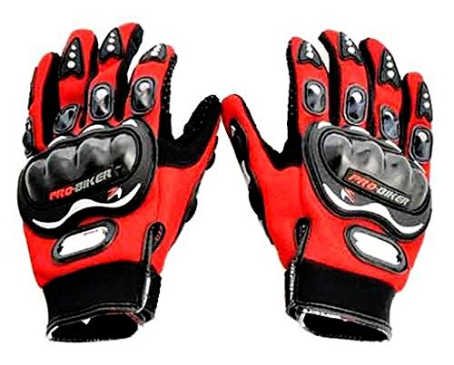 Probiker-Leather-Motorcycle-Gloves-Blue