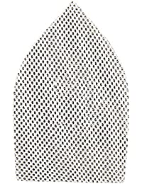 Silverline 935562 Lot de 10 Triangles abrasifs treillis auto-agrippant 175 x 105 mm grain 80