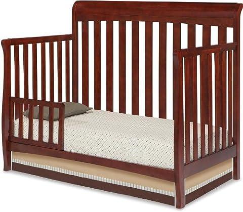 Delta Marquis 4-In-1 Convertible Sleigh Crib by Delta