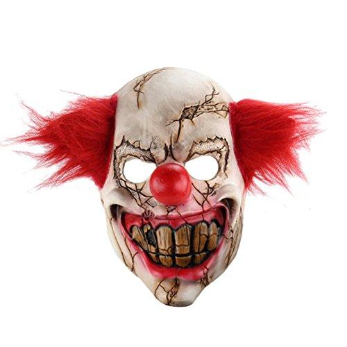 n Maske Scary Joker Clown Maske Kostüm Erwachsene Geist Festliche Party Maske Liefert Dekoration (Halloween Beste Scary Kostümen)